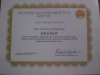 Certified Mold Companies Whitman MA - JH Cleaning - 3-1-10 mold cert 2 002