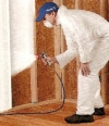 Mold Solutions Company Hanson MA | JH Cleaning - spraying_guy