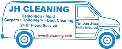 Water Damage Bridgewater MA | JH Cleaning | 781.249.4143 - Van