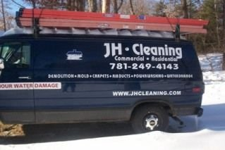 Water Damage Bridgewater MA | JH Cleaning | 781.249.4143 - blue_van_1_