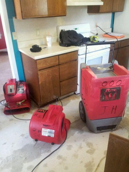 Water Damage Bridgewater MA | JH Cleaning | 781.249.4143 - john_work_website_089