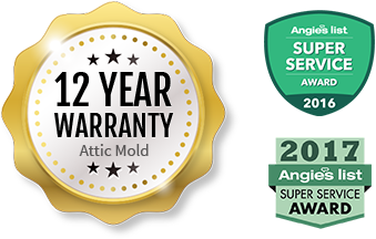 12 Year Attic Mold Warranty